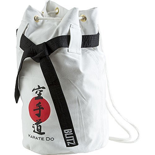 Blitz Karate Discipline Duffle Bag - White - Martial Arts Training