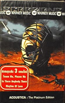 audio dvd scorpions acoustica