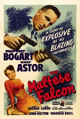 The Maltese Falcon POSTER Movie (27 x 40 Inches - 69cm x 102cm) (1941) (B) ()