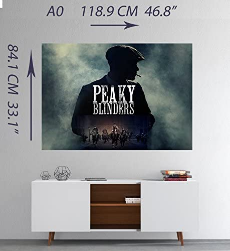 Peaky Blinders TV Show Large CANVAS Art Print A0 A1 A2 A3 A4