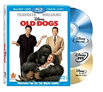 Old Dogs Three-Disc Blu-ray Combo Pack w/ DVD + Digital Copy by ...