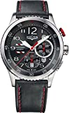 Vulcain Aviator Instrument Chronograph Men's Grey Dial Swiss Automatic Watch 590163A17.BFC006