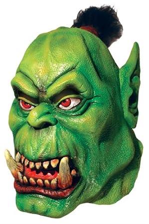 Rubies 3 68205 - WOW Orco Deluxe máscara de látex [Importado de Alemania]
