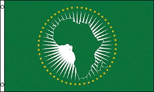 African Union AU Flag Polyester 3x5 Foot Flag Outdoor Banner