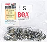 10 Pack Small Boa Universal Pipe Hangers - MSS