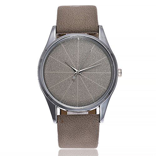 Hessimy Womens Fashion Watches New Ladies Business Bracelet Classic Watch Unisex Sport Casual Simple Leather Band Retro Analog Quartz Wrist Watches for Women On Sale
