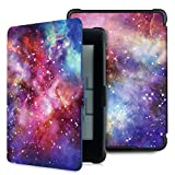 Case for Kindle Paperwhite -Premium Thinnest and Lightest PU Leather Cover with Auto Wake/Sleep for Amazon All-New Kindle Paperwhite (Fits 2012, 2013, 2015 Versions), Nebula Galaxy