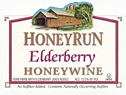 HoneyRun Elderberry Honeywine