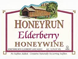 NV HoneyRun Winery Elderberry Honeywine 750 mL Wine