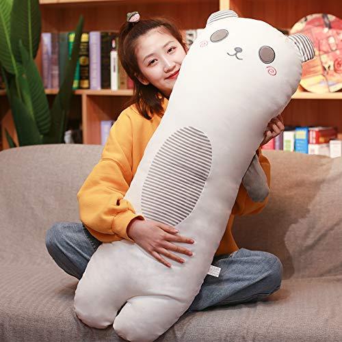 B 70cm QZXCD Plush Toys Creative Dinosaur Animal Pillow Strip Pillow Doll Plush Toy Bear Cute Lazy Gifts Send Girls Meng 140cm O