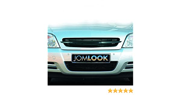 JOM 6320040OE Calandra JOM, Opel Vectra C, sin emblema (con aprobacion), negra: Amazon.es: Coche y moto