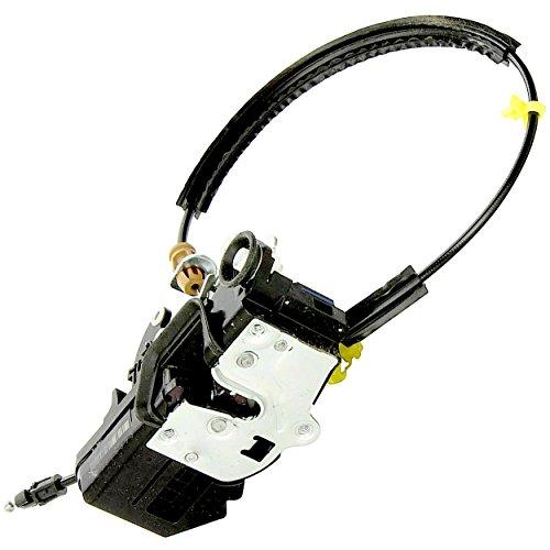 APDTY 141341 Door Latch w/Lock Actuator Motor & Cable Fits Rear Left 2008-2009 Cadillac Escalade Chevrolet Avalanche Silverado GMC Sierra Pickup (Replaces 20783861, 25876393, 25873491, 25945740)