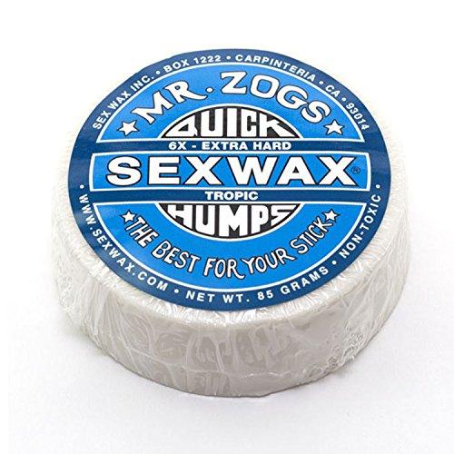 SexWax Unisex Quick Humps Surf Wax 6X Extra Hard Blue