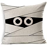 ForcoolStore Vintage Mummy Halloween Gift pattern Throw Pillow Case Cushion Cover