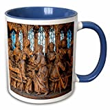 3dRose Danita Delimont - Churches - Germany, Rothenberg, St Jacobs Church - EU10 JEN0290 - Jim Engelbrecht - 11oz Two-Tone Blue Mug (mug_137115_6)