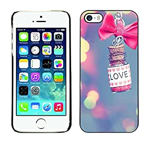 Plastic Shell Protective Case Cover || Apple iPhone 5 / 5S || Blur Pink Meaning Valentine @XPTECH