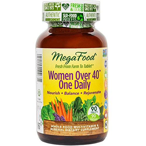 MegaFood – Women Over 40 One Daily, Promotes Immune Health & Well-being, 90 Tablets (FFP)