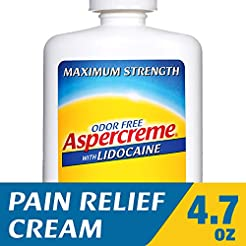 Aspercreme with Lidocaine Maximum Streng...