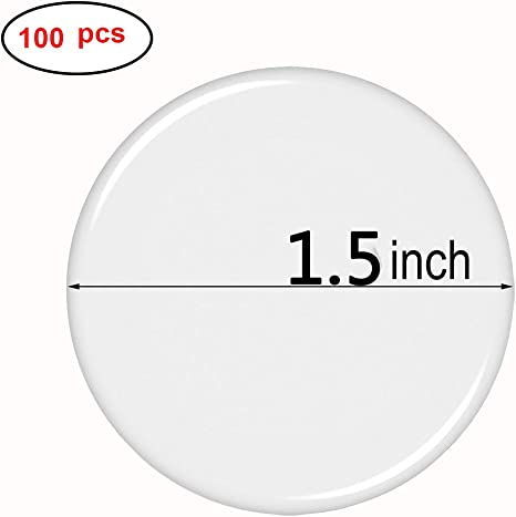 Pop Resin 2 inch Round Clear Epoxy Stickers 60 Pcs for Bottle Cap Pendants or DIY Crafts Adhesive Seal Stickers/