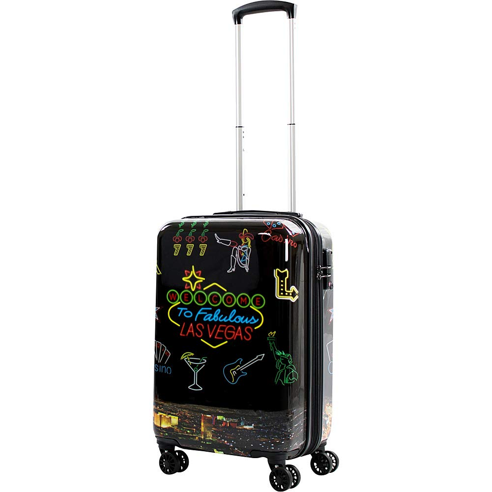 American Green Travel Las Vegas 20'' Expandable Hardside Carry-On Spinner (Las