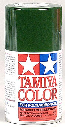 (Tamiya America, Inc Polycarbonate PS-22 Racing Green, Spray 100 ml, TAM86022)