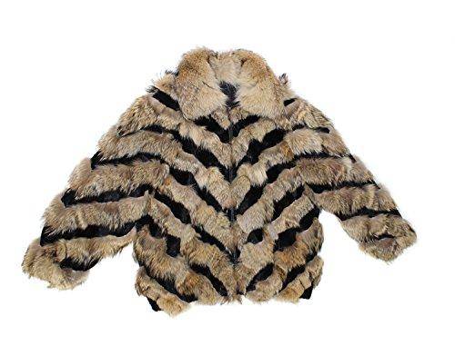 Sheared Mink Jacket - 713752 New Mens Natural Coyote Sheared Mink Fur Bomber Jacket Coat 5XL