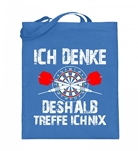 Shirtee OHSEMHZD_XT003_38cm_42cm_5739 - Bolso de tela de algodón para mujer Azul azul 38cm-42cm Azul
