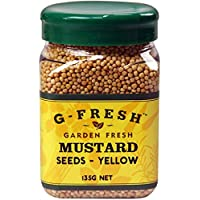 G-Fresh Mustard Seeds (Yellow), 135 g