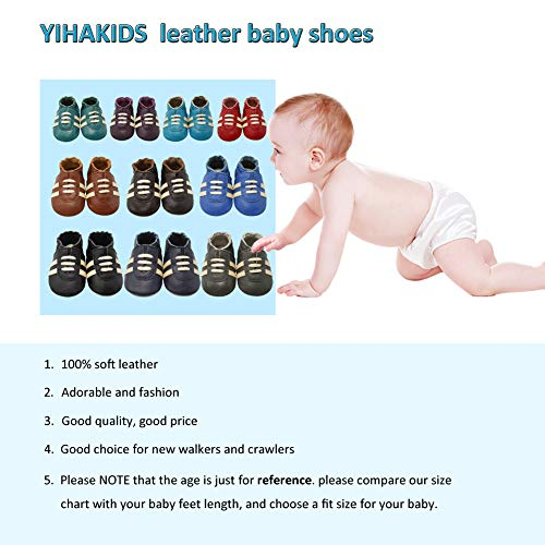 Pictures of YIHAKIDS Baby Sneaker Genuine Leather Soft Suede 7