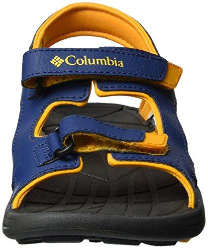 9265b3bfb ColumbiaYouth Techsun Vent sandalias de senderismo para chico Azul Carbon