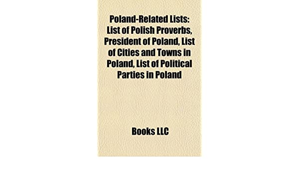 Poland Related Lists List Of Polish Proverbs President Of