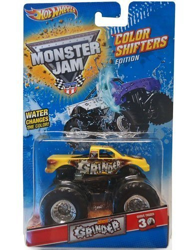GRINDER Advance Auto Parts Hot Wheels Monster Jam Color Shifters Edition 1:64-Scale Truck