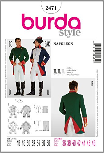 Child Colonial Soldier Costume (Burda 2471 Pattern Napoleon French Soldier Costume)