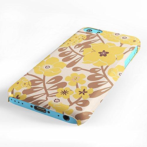 Koveru Back Cover Case for Apple iPhone 5C - Flower Art