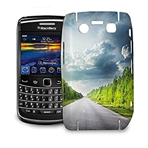 Phone Case For BlackBerry Bold 9700 - Road Through Forest Hard Cover wangjiang maoyi