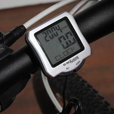 Bike Bicycle Wired Cycle Computer Odometer Speedometer Waterproof