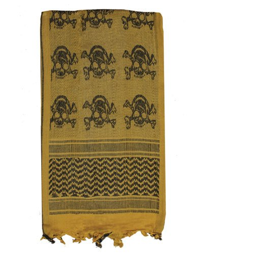 Skulls Tactical Shemagh Desert Scarf product image