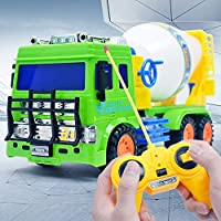 Ranoff Engineering Car 1:20 Scale Diecast Cement Mixer Toys Car Toys Plastic Car Models (Color)
