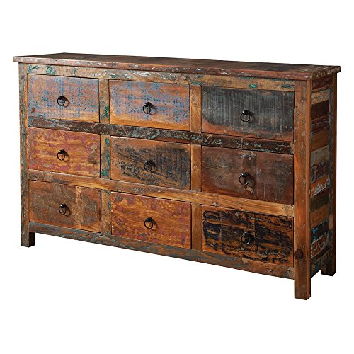 51ipb7NPvhL - Coaster Furniture Reclaimed Wood Decorative Chest