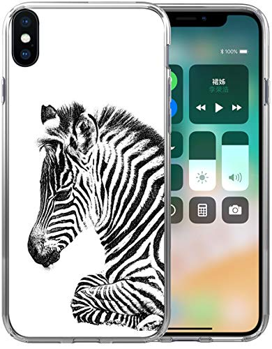 - Xs Max Case Zebra/IWONE Designer Rubber Durable Protective Skin Transparent Cover Shockproof Compatible with iPhone Xs Max [X Max] 2018 6.5 Inches Zebra Animal