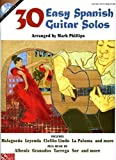 30 Easy Spanish Guitar Solos Bk/online audio