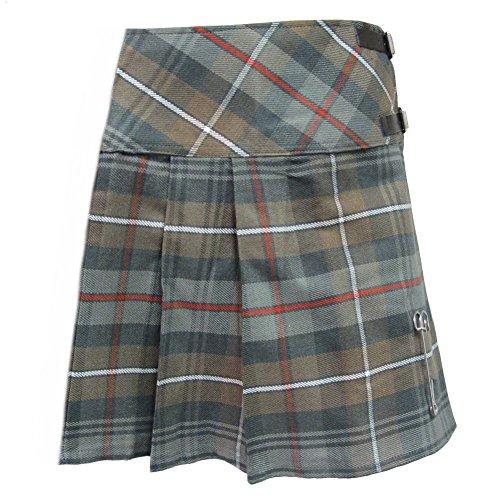 Tartanista Womans Weathered Look McKenzie 20 Inch Wrap Knee Length Kilt Skirt Size 10