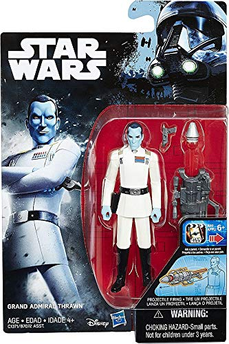 STAR WARS Rebels Rogue One GRAND ADMIRAL THRAWN 3.75 inch Figure NEW