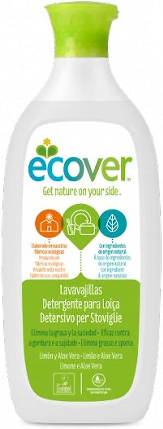 Ecover 3730 - Lavavajillas limón y aloe vera Ecover 1L: Amazon.es ...