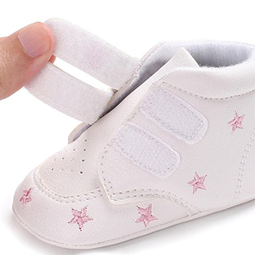 Sneaker Soft 1 Schuhe Mädchen Stickerei Cut Kleinkind Anti Hight Baby Jungen Sole Rutsch Igemy Paar Herzförmig Rosa BqHOOvx