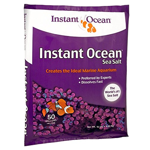 The Best Instant Ocean Sea Salt, 50-Gallon, Marine Aquarium Tank, New by Instant Ocean