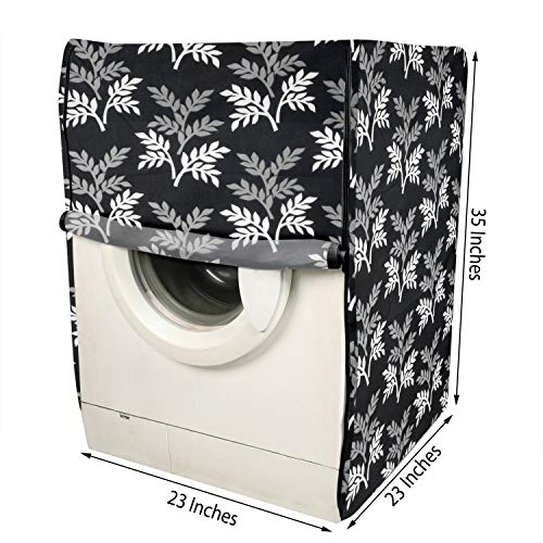 E-Retailer® Polyester Front Load Washing Machine Cover Suitable for 5KG to 8 KG (Black) 51ipcFwBwcL India 2021