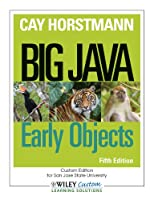 Big Java: Early Objects, 5th Edition Front Cover