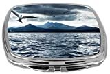 Rikki Knight Compact Mirror, Birds On Ocean