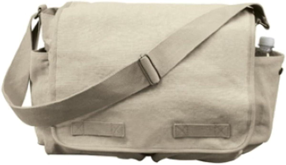 ARMY M-51 military shoulder  messenger bag school travel college Rothco black